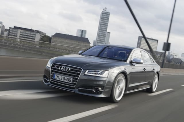 Refreshed Audi A8