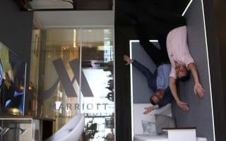 Marriott  opens gravity-defying hotel room