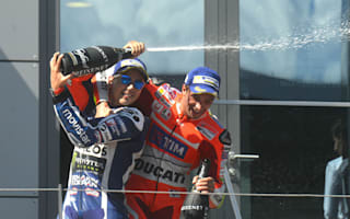 Lorenzo: Third place almost felt like a win