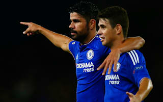 Hiddink likes players to show fight after Oscar-Costa clash