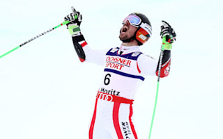 Hirscher takes GS gold following bizarre plane incident