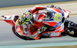 Iannone on top in Assen practice
