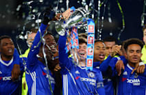 Conte impressed by 'four or five' of Chelsea's FA Youth Cup winners