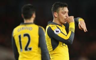 Middlesbrough 1 Arsenal 2: Ozil keeps top-four hopes alive