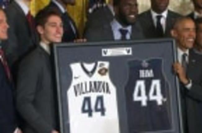 Obama welcomes NCAA champion Villanova to White House