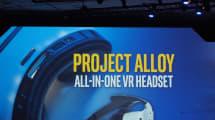 Intel anuncia Project Alloy, su casco VR autónomo de realidad 'fusionada'