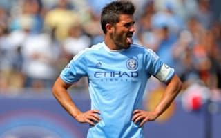 David Villa sent off after video replay