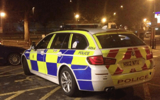 Hampshire police enrage social media users with poor parking photo