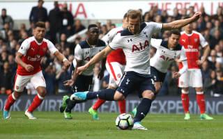 Kane breaks Tottenham record in north London derby
