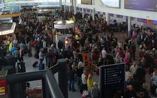 Bristol Airport flights grounded after fire causes power failure