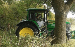 Spot the camera: Operation Kansas sees officers climb aboard Tractors