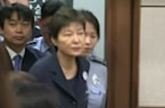 Trial kicks off for South Korea's ex-leader Park