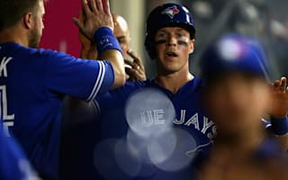 WATCH: Blue Jays' Coghlan soars over Molina's head to score from the air