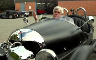 Video road test: Jay Leno tries the Morgan 3 wheeler