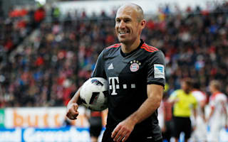 Robben agrees Bayern renewal until 2018