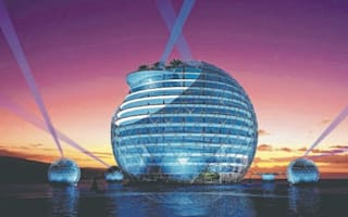£140m futuristic floating 'giant pearl' hotel to open in Australia