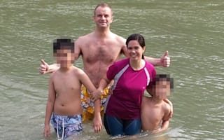 British man dies saving girlfriend's son and dog from river on Philippines holiday