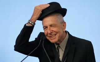 Tributes pour in for 'cherished artist' Leonard Cohen