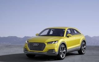 Audi TT offroad concept hints at Range Rover Evoque rival