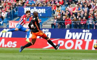 Atletico Madrid 3 Valencia 0: Simeone's men regain control of Champions League qualification fate