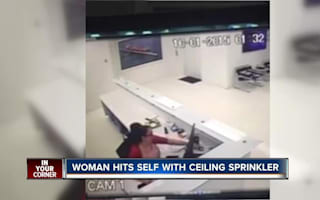Workplace compensation fraud attempt caught on CCTV