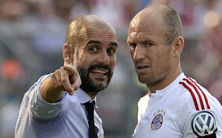 Robben: No Manchester City move discussions with Guardiola