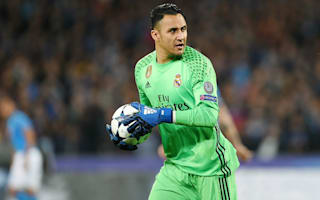 Navas, James and Marcelo out of Real Madrid's clash with Alaves