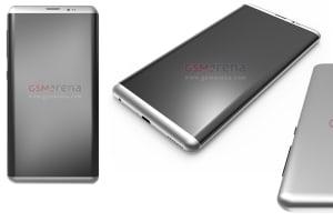 Los primeros renders filtrados del Galaxy S8 coinciden con el diseño