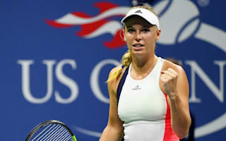 Wozniacki tight-lipped on retirement as she basks in semi-final berth