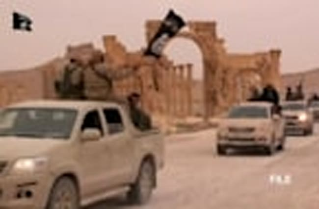 Islamic State detroys Syrian amphitheatre - authorities