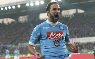 Napoli rejected Atletico bid of 'EUR60m plus two or three players' for Higuain
