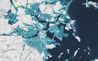 Visualisations show worst case sea levels by 2100