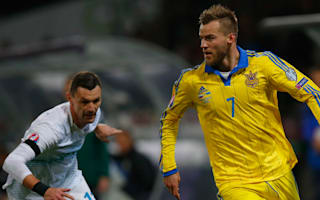 Slovenia 1 Ukraine 1 (1-3 agg): Visitors end play-off curse to reach Euro 2016