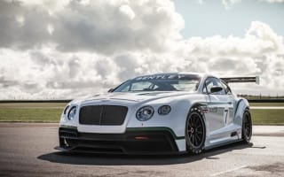 UK debut for Bentley Conti GT3 racecar