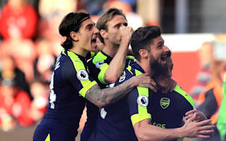Stoke City 1 Arsenal 4: Ozil, Sanchez key to crucial win in top-four race