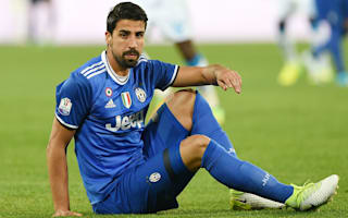 Khedira out of Coppa Italia final and a doubt for Champions League showdown