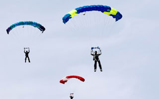 Skydiver dies after mid-air collision