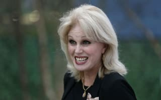 Joanna Lumley defends wolf-whistling: 'It's a compliment'