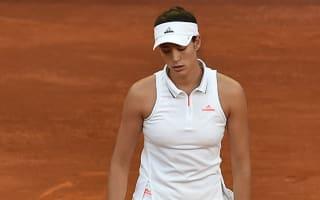 Madrid misery for Muguruza, Sharapova sets up Bouchard clash