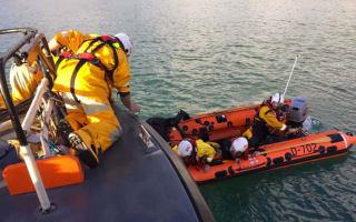 RNLI rescue humpback whale for second time in Devon