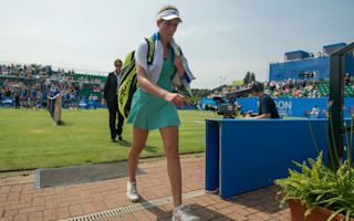 Zheng outs Konta in Nottingham, Barty into quarter-finals