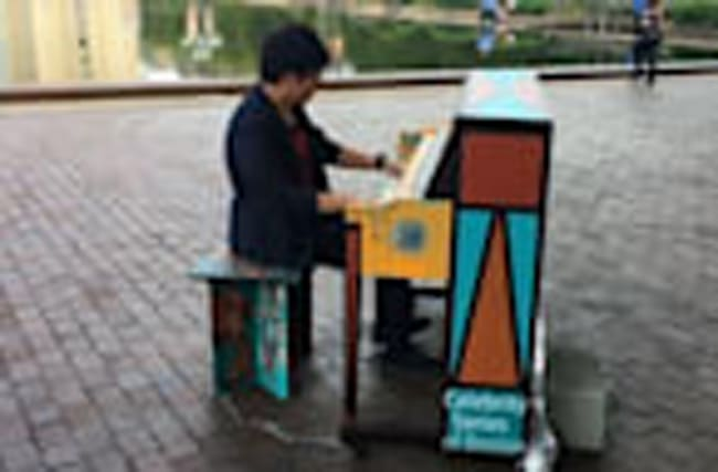 Painted Pianos Pop Up Across Boston