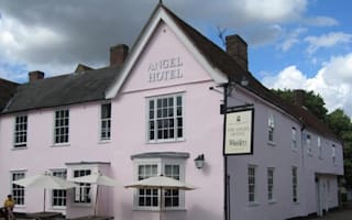 Marco Pierre White in Suffolk hotel pink paint row
