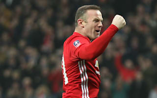 Rooney: Scoring for Man Utd is like playing underwater