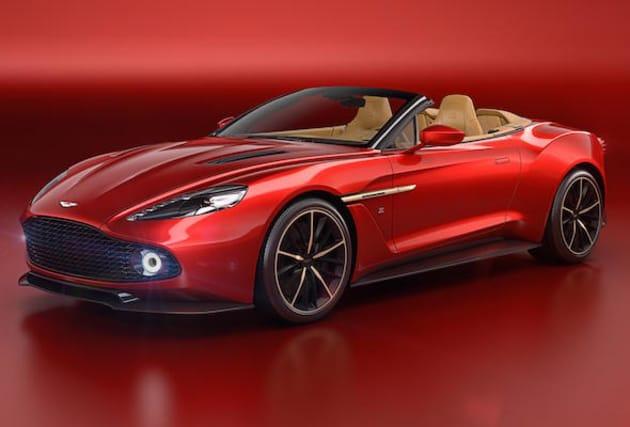Aston Martin reveals stunning Vanquish Zagato Volante