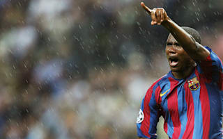 Eto'o prefers Iniesta to Ronaldo and Messi: He deserves four Ballons d'Or