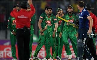 Bangladesh duo fined over Buttler spat