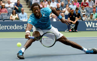 Monfils eases past Pouille under Arthur Ashe roof