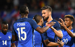 France 3 Scotland 0: Giroud answers critics as Euro 2016 hosts turn on the style