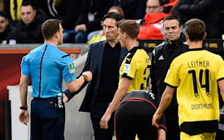 Schmidt banned for five games after referee row